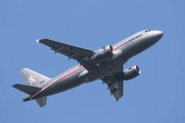 宮崎 育男さんが、成田国際空港で撮影したチェコ空軍 A319-115CJの航空フォト(飛行機 写真・画像)