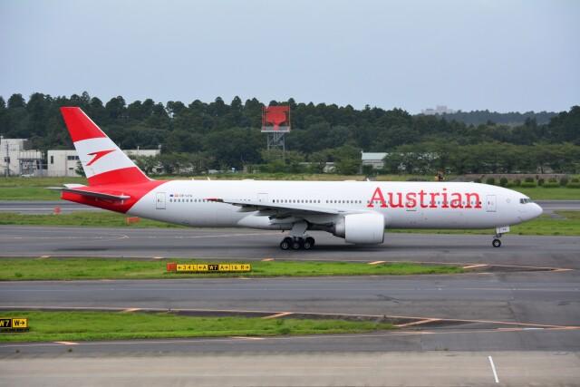 2021年08月09日に撮影されたオーストリア航空の航空機写真