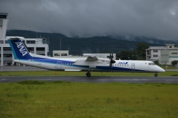 ko_zo.k@KMJさんが、熊本空港で撮影したANAウイングス DHC-8-402Q Dash 8の航空フォト(飛行機 写真・画像)