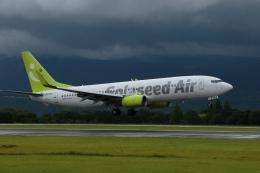 ko_zo.k@KMJさんが、熊本空港で撮影したソラシド エア 737-881の航空フォト(飛行機 写真・画像)