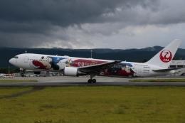 ko_zo.k@KMJさんが、熊本空港で撮影した日本航空 767-346/ERの航空フォト(飛行機 写真・画像)