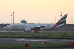 いんちゃんさんが、羽田空港で撮影したエミレーツ航空 777-F1Hの航空フォト(飛行機 写真・画像)