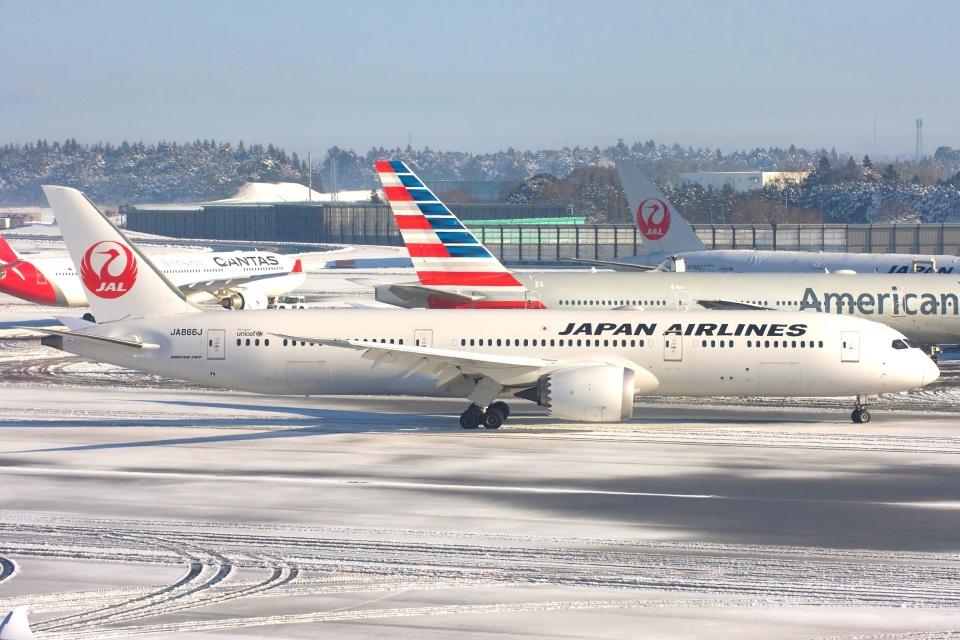S.Hayashiさんの日本航空 Boeing 787-9 (JA866J) 航空フォト