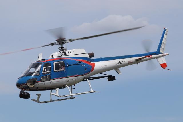 2021年08月11日に撮影されたアカギヘリコプターの航空機写真