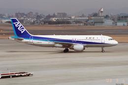 apphgさんが、名古屋飛行場で撮影した全日空 A320-211の航空フォト(飛行機 写真・画像)