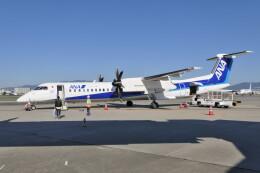 KKiSMさんが、伊丹空港で撮影したANAウイングス DHC-8-402Q Dash 8の航空フォト(飛行機 写真・画像)