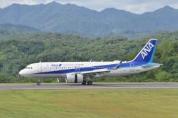 KKiSMさんが、石見空港で撮影した全日空 A320-271Nの航空フォト(飛行機 写真・画像)
