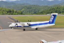 KKiSMさんが、石見空港で撮影したANAウイングス DHC-8-402Q Dash 8の航空フォト(飛行機 写真・画像)