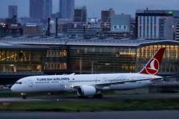 kikiさんが、羽田空港で撮影したターキッシュ・エアラインズ 787-9の航空フォト(飛行機 写真・画像)