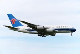 すしねこさんが、成田国際空港で撮影した中国南方航空 A380-841の航空フォト(飛行機 写真・画像)
