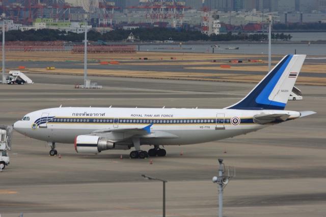 S.Hayashiさんが、羽田空港で撮影したタイ王国空軍 A310-324の航空フォト(飛行機 写真・画像)