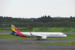 ななけーさんが、成田国際空港で撮影したアシアナ航空 A321-251NXの航空フォト(飛行機 写真・画像)