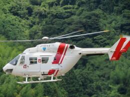 チダ.ニックさんが、静岡ヘリポートで撮影した四国航空 BK117C-1の航空フォト(飛行機 写真・画像)