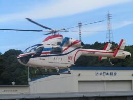 チダ.ニックさんが、静岡ヘリポートで撮影した朝日新聞社 MD 900/902の航空フォト(飛行機 写真・画像)