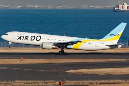 KoshiTomoさんが、羽田空港で撮影したAIR DO 767-33A/ERの航空フォト(飛行機 写真・画像)