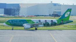 singapore346さんが、トゥールーズ・ブラニャック空港で撮影したエア・リンガス A320-214の航空フォト(飛行機 写真・画像)