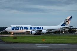 new_2106さんが、横田基地で撮影したウエスタン・グローバル・エアラインズ 747-446(BCF)の航空フォト(飛行機 写真・画像)