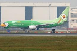 jun☆さんが、ドンムアン空港で撮影したノックエア 737-8FHの航空フォト(飛行機 写真・画像)