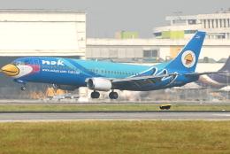 jun☆さんが、ドンムアン空港で撮影したノックエア 737-4Y0の航空フォト(飛行機 写真・画像)