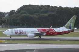 singapore346さんが、シンガポール・チャンギ国際空港で撮影したエア・インディア・エクスプレス 737-8HGの航空フォト(飛行機 写真・画像)