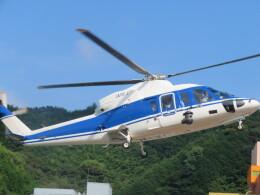 チダ.ニックさんが、静岡ヘリポートで撮影したファーストエアートランスポート S-76C++の航空フォト(飛行機 写真・画像)