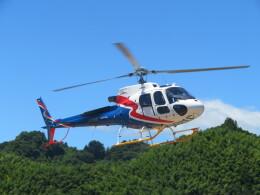 チダ.ニックさんが、静岡ヘリポートで撮影した四国航空 AS350B3e Ecureuil (H125)の航空フォト(飛行機 写真・画像)