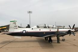 キャスバルさんが、キャノン空軍基地で撮影したアメリカ空軍 T-6A Texan IIの航空フォト(飛行機 写真・画像)