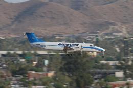 キャスバルさんが、フェニックス・スカイハーバー国際空港で撮影したアメリフライト 1900Cの航空フォト(飛行機 写真・画像)