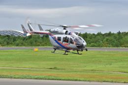 まっちゃんさんが、秋田空港で撮影した秋田県消防防災航空隊 BK117C-2の航空フォト(飛行機 写真・画像)