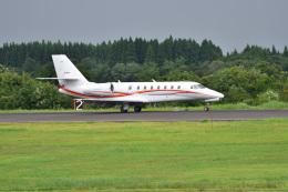 まっちゃんさんが、秋田空港で撮影した朝日航洋 680 Citation Sovereignの航空フォト(飛行機 写真・画像)