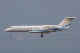 よっしぃさんが、香港国際空港で撮影したAsia United Business Aviation Limited G-IV-X Gulfstream G450の航空フォト(飛行機 写真・画像)
