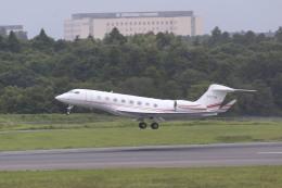 airdrugさんが、成田国際空港で撮影したプライベートエア G650 (G-VI)の航空フォト(飛行機 写真・画像)
