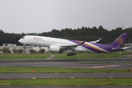 airdrugさんが、成田国際空港で撮影したタイ国際航空 A350-941の航空フォト(飛行機 写真・画像)