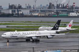 kina309さんが、羽田空港で撮影したルフトハンザドイツ航空 A340-313Xの航空フォト(飛行機 写真・画像)