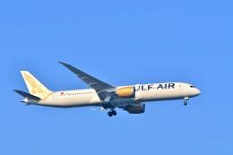 Hiro Satoさんが、スワンナプーム国際空港で撮影したガルフ・エア 787-9の航空フォト(飛行機 写真・画像)