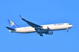 Hiro Satoさんが、スワンナプーム国際空港で撮影したエア・アスタナ 767-3KY/ERの航空フォト(飛行機 写真・画像)