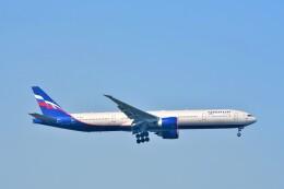 Hiro Satoさんが、スワンナプーム国際空港で撮影したアエロフロート・ロシア航空 777-3M0/ERの航空フォト(飛行機 写真・画像)