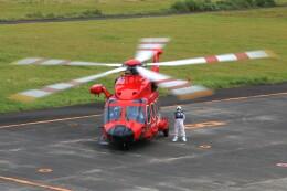 じーのさんさんが、八丈島空港で撮影した東京消防庁航空隊 AW189の航空フォト(飛行機 写真・画像)