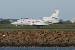 よっしぃさんが、シドニー国際空港で撮影したニューギニア航空 Falcon 900EXの航空フォト(飛行機 写真・画像)
