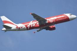 jun☆さんが、クアラルンプール国際空港で撮影したインドネシア・エアアジア A320-216の航空フォト(飛行機 写真・画像)