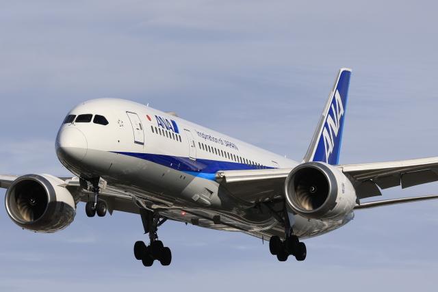 航空フォト:JA807A 全日空 787-8 Dreamliner