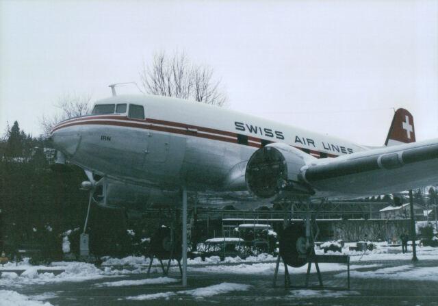 こまっちゃんさんが、ZRH(swiss transport museum,Luxern)で撮影したスイス航空 DC-3の航空フォト(飛行機 写真・画像)