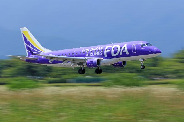 航空フォト:JA06FJ フジドリームエアラインズ E175