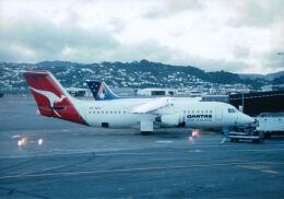 こまっちゃんさんが、オークランド空港で撮影したカンタス・ニュージーランド BAe-146-300の航空フォト(飛行機 写真・画像)