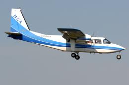 Tomo-Papaさんが、調布飛行場で撮影した新中央航空 BN-2B-20 Islanderの航空フォト(飛行機 写真・画像)