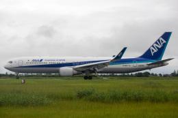 SGさんが、佐賀空港で撮影した全日空 767-381/ERの航空フォト(飛行機 写真・画像)