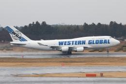 S.Hayashiさんが、成田国際空港で撮影したウエスタン・グローバル・エアラインズ 747-446(BCF)の航空フォト(飛行機 写真・画像)