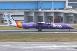 S.Hayashiさんが、アムステルダム・スキポール国際空港で撮影したフライビー DHC-8-402Q Dash 8の航空フォト(飛行機 写真・画像)