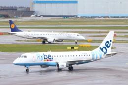 S.Hayashiさんが、アムステルダム・スキポール国際空港で撮影したフライビー ERJ-170-200 (ERJ-175STD)の航空フォト(飛行機 写真・画像)