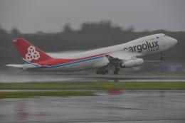 成田国際空港 - Narita International Airport [NRT/RJAA]で撮影されたカーゴルクス・イタリア - Cargolux Italia [ICV]の航空機写真